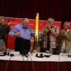 Peter Hledík, Jiří Krejčík, Milan Lasica, Jaromír Hanzlík a Jiří Menzel