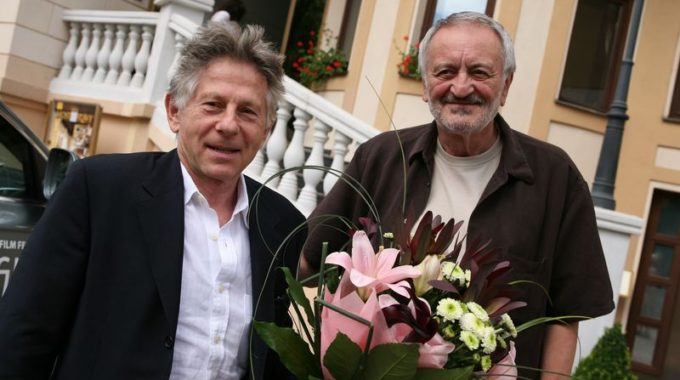 Režisér Roman Polanski a prezident AFF Milan Lasica