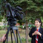Ella Manzheeva, režisérka filmu Čajky