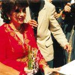 Gina Lollobrigida laureátka ocenenia Hercova misia 1996