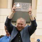 Jerzy Stuhr laureát ocenenia Hercova misia 2003