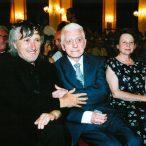 Maximilán Remeň a Juraj Jakubiskolaureáti ocenenia Zlatá kamera 2002