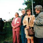 Miroslav Ondříček, Ľuba Velecká, Milan Lasica, Bengt Forslundčlenovia poroty 1998