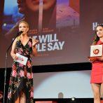 Divácku cenu JOJ Cinema za dlhometrážny film prišla odovzdať Lucia Barmošová, Foto: Peter Stas