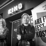 Hongkonský režisér Jevons Au a programová zostavovateľka Kristína Aschenbrennerová