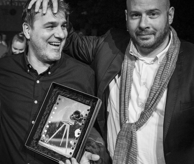 Maďarský režisér Kornél Mundruczó a slovenský producent a režisér Mátyás Prikler
